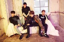 Suga, J-Hope, RM and V Puma Happy New Platform Year