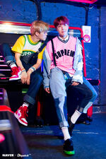 Jimin and J-Hope Love Yourself Her Shoot (1)