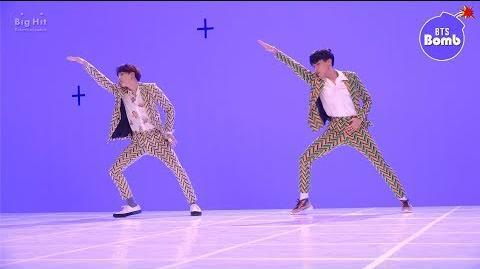 BANGTAN BOMB Dance Battle during 'IDOL' MV shoot - BTS (방탄소년단)