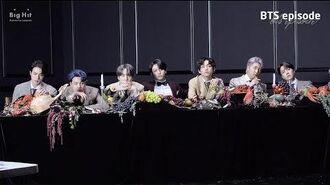 EPISODE BTS (방탄소년단) 'MAP OF THE SOUL 7' Jacket shooting sketch