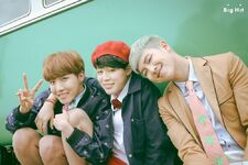 J-Hope, Jimin and RM Young Forever Shoot