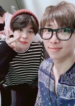 RM and Jimin Twitter April 22, 2018 (1)