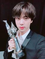 Jin Twitter Jan 6, 2019