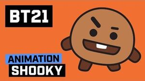 BT21 Hi~ I am SHOOKY