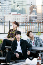 Jin, J-Hope and RM Naver x Dispatch June 2018 (5)