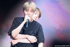 Jin and J-Hope Wings Tour 2017 (1)
