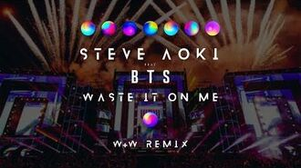 Steve Aoki feat. BTS - Waste It On Me (W&W Remix) Official Music Video