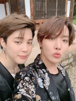 Jimin and J-Hope Twitter August 17, 2019 (2)