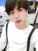 Jin Twitter April 20, 2018 (2)