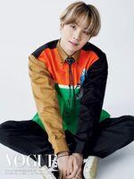 Suga Vogue Japan Magazine August 2020
