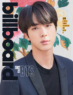 BTS Billboard cover Jin 1