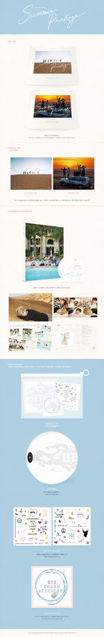 BTS Summer Package 2016 Info