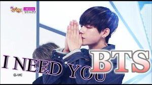 Comeback Stage BTS - I NEED U, 방탄소년단 - I NEED U, Show Music core 20150502