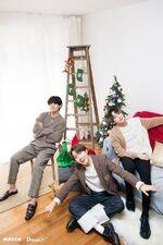J-Hope, V, and Jungkook X Dispatch Dec 2019 3