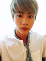 Jin Twitter Aug 31, 2016
