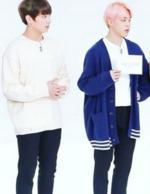 Jikook BTS Gayo staring