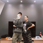 RM and Jorja Smith Twitter Aug 22, 2018