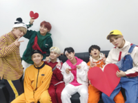 BTS Official Twitter Dec 31, 2017