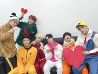 BTS Official Twitter Dec 31, 2017