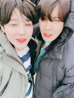Jimin and J-Hope Twitter Apr 9, 2018