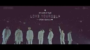 BTS (방탄소년단) WORLD TOUR 'LOVE YOURSELF SPEAK YOURSELF' SPOT