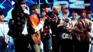 EPISODE BTS (방탄소년단) 'Fire' 1st win @ 160512 M countdown