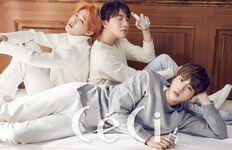 Jimin, J-Hope and Jin CLEAN Perfume
