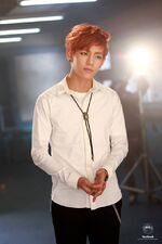 Boy In Luv MV Shooting 1