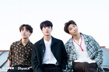 Jin, J-Hope and RM Naver x Dispatch June 2018 (2)