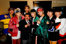 BTS and Guillermo Rodriguez Official Twitter Nov 30, 2017