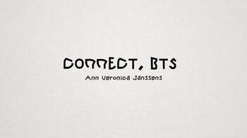 CONNECT, BTS Interview with Ann Veronica Janssens @ Seoul