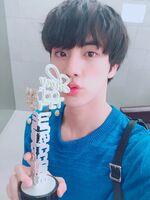 Jin Twitter June 2, 2018 (1)