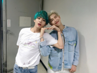RM and V Official Twitter April 28, 2019