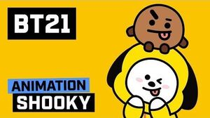 BT21 SHOOKY! CHIMMY!