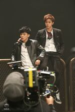 Boy In Luv MV Shooting 4