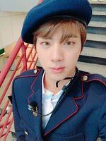 Jin Twitter Feb 26, 2017 (1)