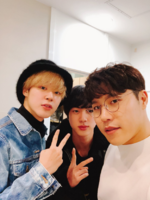 Jimin, Jin and Hyeon Twitter Feb 27, 2018 (1)