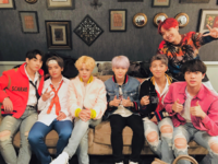 BTS at The Late Late Show Official Twitter Dec 1, 2017