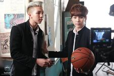 Boy In Luv MV Shooting 17