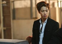 Boy In Luv MV Shooting 5