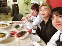 Suga, RM and J-Hope Twitter Jan 22, 2019 (2)