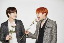 Suga and J-Hope GQ Korea Magazine Dec 2016