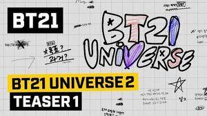 BT21 BT21 UNIVERSE 2 - TEASER 1