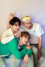 Jungkook, Jin and RM Map of the Soul Persona Shoot (1)