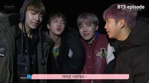EPISODE BTS (방탄소년단) 'YOU NEVER WALK ALONE' Jacket shooting sketch