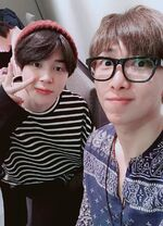 RM and Jimin Twitter April 22, 2018 (2)