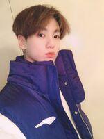 Jungkook Twitter Dec 3, 2018