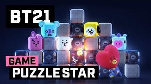 BT21 PUZZLE STAR BT21 is coming!