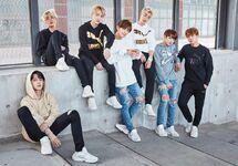BTS Photoshoot for Puma