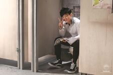 Boy In Luv MV Shooting 21